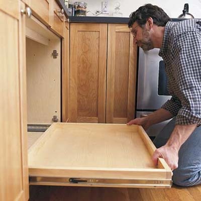 install the shelf how to install a pull out kitchen