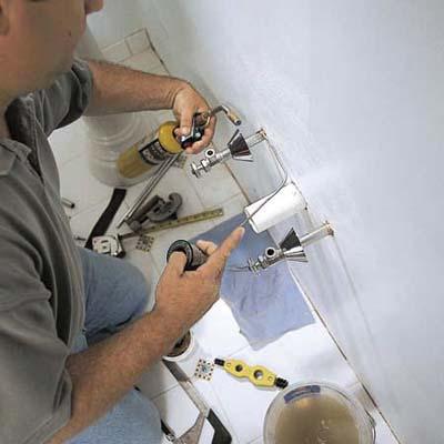 Pedestal Sink Plumbing : ... Plumbing Danville - How to Install a Pedestal Sink - Guaranteed