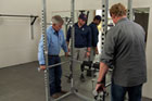Tom Silva and Kevin O'Connor build a home gym for a Navy SEAL injured in Afghanistan