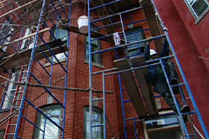 renovation nears completion at the Washington, D.C. house project