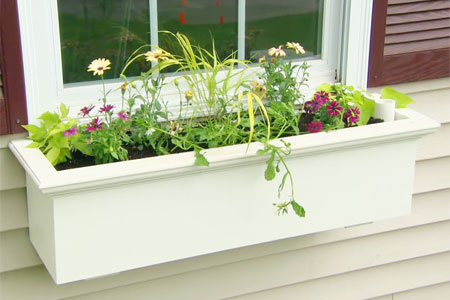 how to hang flower boxes on siding 1