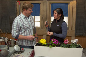 Jenn Nawada tells Kevin O'Connor about handy tools for first-time gardeners