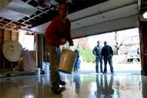 Sealing A Garage Floor
