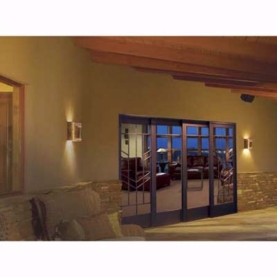weatherproof metal sliding door by Eagle