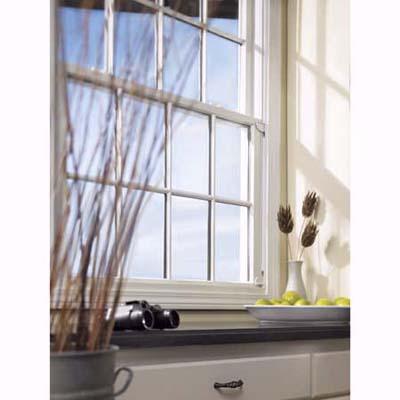 Andersen interior window bracket for hanging plywood during storm