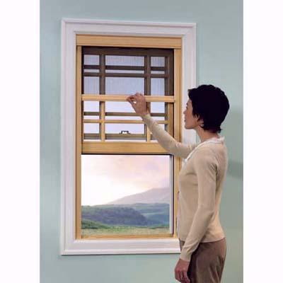 customized window screens from Phantom Screens