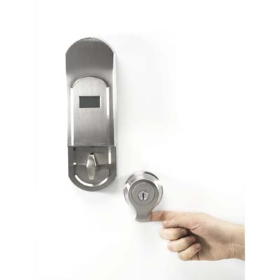 biometric smartscan lock from Kwikset