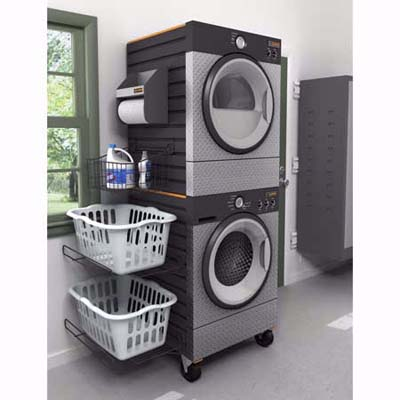 Gladiator garage-ready laudry suite washer-dryer combo