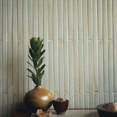 Bamboo tile from Walker Zanger's Mizu Umi line