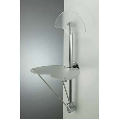 Foldaway shower seat from Bristol and Bath