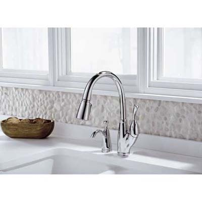 Delta Allora pull-down kitchen faucet